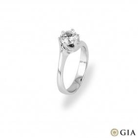 White Gold Diamond Ring 1.07ct I/SI1